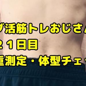 【デブ活おじさん321日目】体重・体脂肪測定・体型チェック画像まとめ