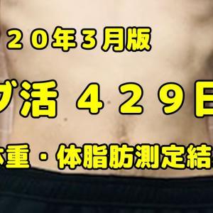 【デブ活おじさん429日目】体重・体脂肪測定・体型チェック画像まとめ