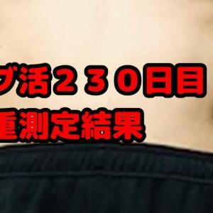 【デブ活おじさん230日目】33回目の体重測定・体型チェック画像まとめ