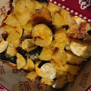 【フロリダで作るレシピ】野菜のチーズグリル