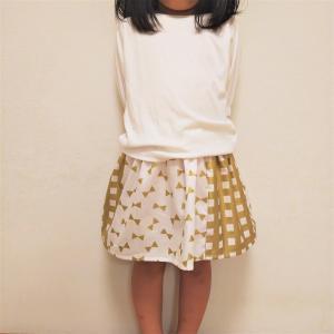 こどもスカートを色々作ってみた