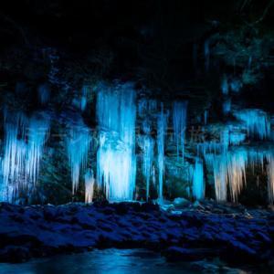 【α6000と】ライトアップされた三十槌の氷柱を撮影した話