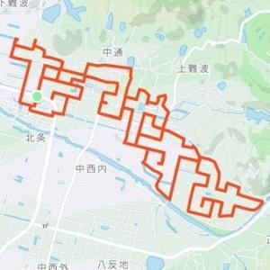 GPSアートに挑戦