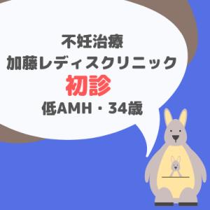 不妊治療 加藤レディスクリニック初診_低AMH 34才