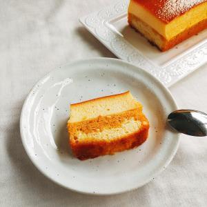 生クリームなしで作れる!パウンド型で簡単プリンケーキ