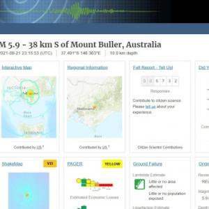 【直下型】22日オーストラリア・メルボルンで「M5.9」の大地震が発生し、住民たちはパニックに!