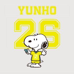 ユニクロのスヌーピーTシャツで、ユノTを作る