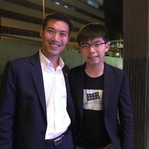 タイ)タナトン党首と香港活動家の写真、タイ世論は「心配ない」、米は香港人権法案可決