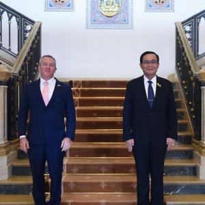 タイ)米国大使がタイ首相と会談、米CDCは新型検査装置をタイに導入