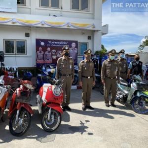 パタヤ)盗んだバイクをFacebookで販売!タイ人男4人、女1人を逮捕