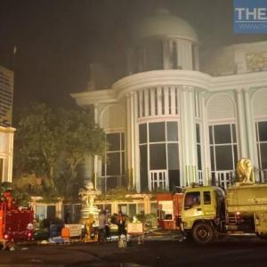 パタヤ)観光スポットSukhawadee Houseでまた火災!同日2度目(動画2本付き)
