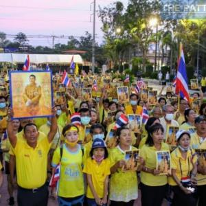 パタヤ)体制派もまた政治集会!両グループの集会続く、民主派は首相辞任を要求