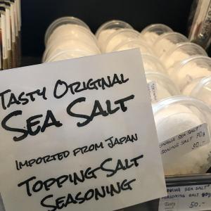 パタヤ)粗塩から海の味!Tastyの愛媛の粗塩が健康的で人気、肉や料理に(PR)