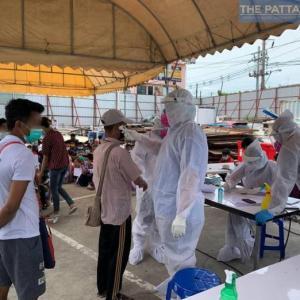 チョンブリ)本日新規陽性者108人に増加、シラチャ38、Mueang30、パタヤ17