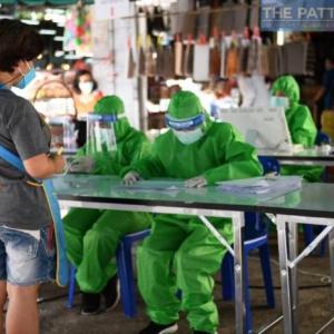 チョンブリ)本日新規陽性者75人に減少、シラチャ31、Mueang15、パタヤ11