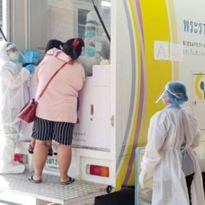 チョンブリ)新規陽性者744人に減少 死者4、治療中12,142