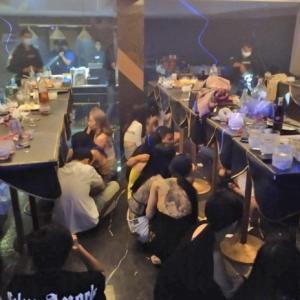 バンコク)ホテルで違法パーティー、ドラッグも 59人を逮捕
