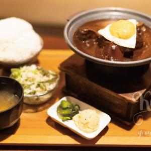 京都・丸太町で人気の濃厚デミグラスソースで味わうハンバーグ&タンシチュー!グリルデミ