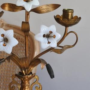 教会のキャンドルスタンドやベニチエなど♪ Reves a la lumiere de Noel展 東京根津りんごや