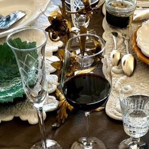 2020年クリスマスディナーは南仏陶器で♪