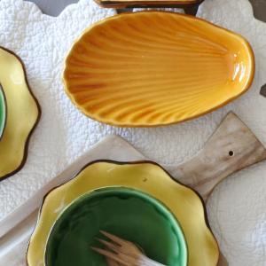 南仏陶器 デュルフィ窯 オーバーニュ窯 ヴィンテージのプロヴァンス陶器たち♪