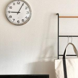 【IKEA】時計がシンプルなインテリアにピッタリ♪