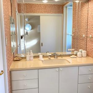 仕組みで防ぐうっかり忘れ!動線を考える洗面室収納♪