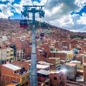 【DAY360・ボリビア 】コパカバーナからラパスへ🚌公共交通機関がロープウェイの街🚠