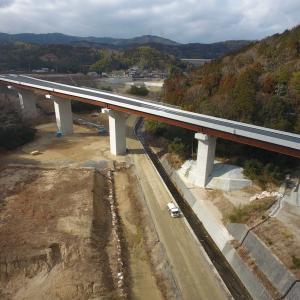 茨木摂津線(都市計画道路大岩線)橋梁上部工事