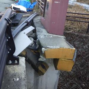 熊本高森線 大切畑大橋復旧工事