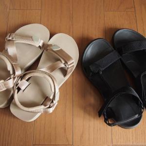 スポサンおすすめはguスポーツサンダルが値下げ価格SM2靴下と合わせて