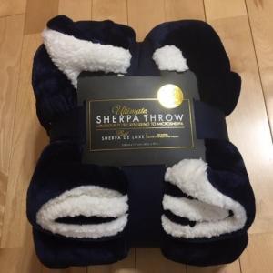 コストコ【SHERPAシャーパ】大判ひざ掛けは暖かすぎて手放せない逸品