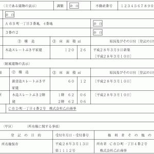 登記申請書例ビフォーアフター㉓