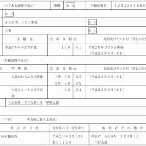 登記申請書例ビフォーアフター㉕