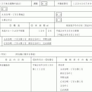 登記申請書例ビフォーアフター㉘
