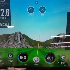 【ゴルフレッスン】ドライバーの弾道をスカイトラックで計測