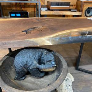 凶方位の化殺のアイテム 木彫りの熊