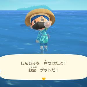 あつまれどうぶつの森日誌 あぁ、楽しきかな海中生活