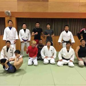 滋賀格闘技合同練習!