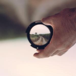 ビデオ撮影の遠近法
