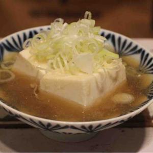 【recipe】みぞれ湯豆腐/この寒い今だから。
