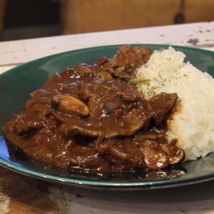 【recipe】欧風和牛カレー/さらば香港