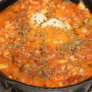 【recipe】フラメンカエッグ/トマト祭
