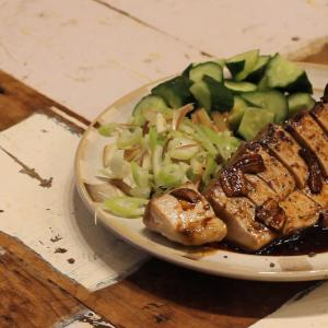【recipe】カツオのガーリックステーキ/バテレ