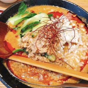 『麺や 舞心』上新庄のウマウマ担々麺屋。ランチタイムは白ごはん&キムチ無料食べ放題で嬉しい!味よし、コスパ良し!