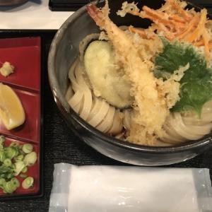 『うだま 梅田店』モチモチ弾力、コシのあるのどごし最高の饂飩。サクサクの天ぷらぶっかけがウマイ!