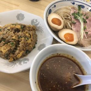 『サバ6製麺所  海老江店 』サバの風味が強いスープ、しっかりコシのある中太麺がウマイ!