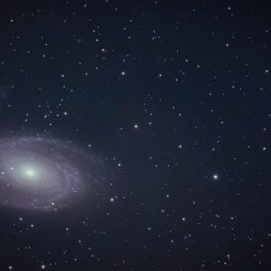 熊野で M81, M82 ボーデの銀河