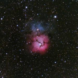 志摩でM20 三裂星雲