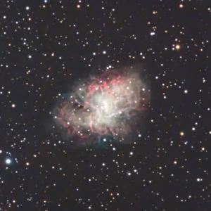 M1 かに星雲を長焦点で